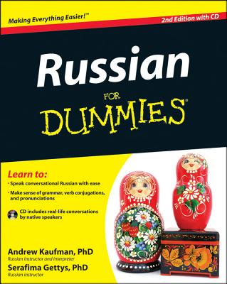 Russian for Dummies By Kaufman, Andrew/ Gettys, Serafima